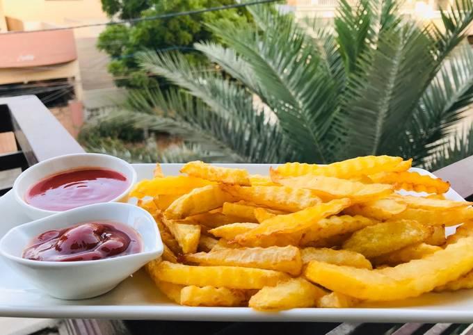Garlic Flavor French Fries