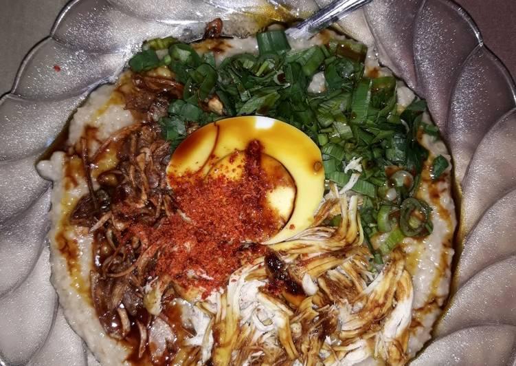 Bubur ayam quaker oat instan