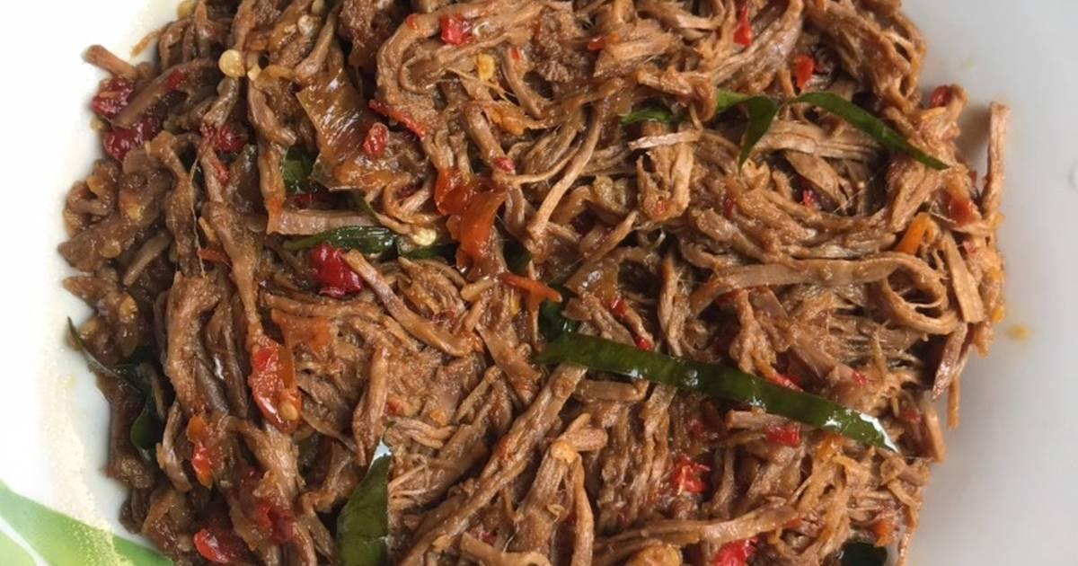 Resep Daging Suwir Pedas Oleh Fara Arshaf Cookpad