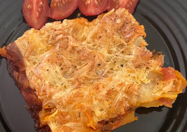 Lasagnes végétarienne de courgettes
