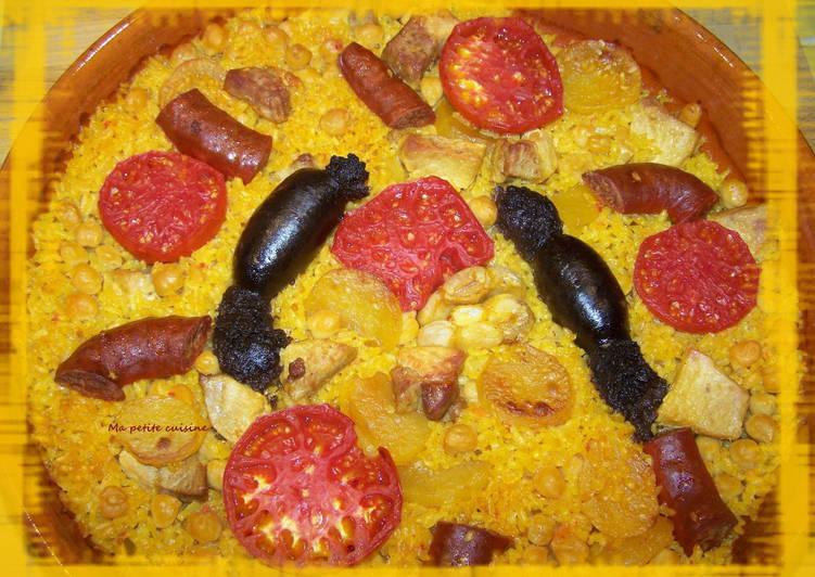 recette Arroz al horno ou riz au four Le plus simple
