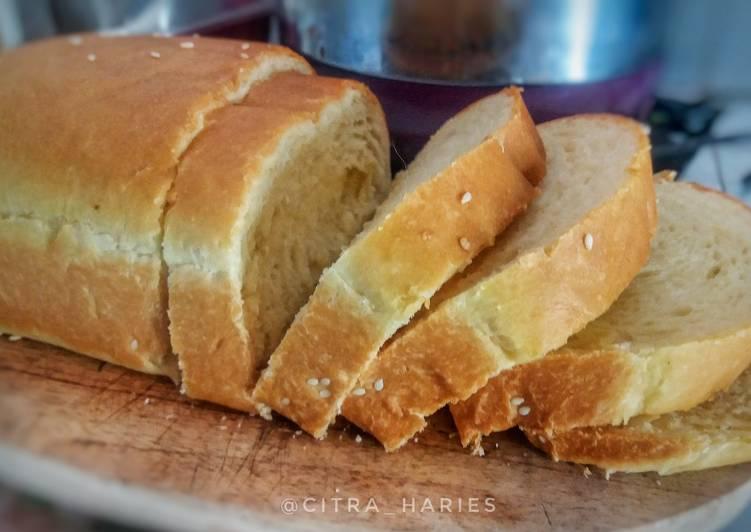 Roti Tawar Panci lembut