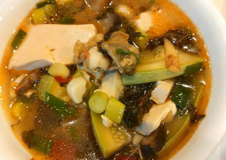 Oyster tofu soup 牡蛎雪菜豆腐汤, Some Foods That Benefit Your Heart
