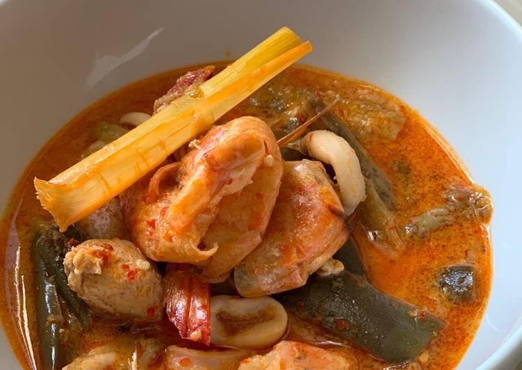 Gulai Seafood + Ayam