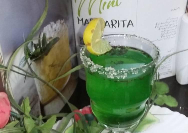 How to Make Award-winning Mint margrita