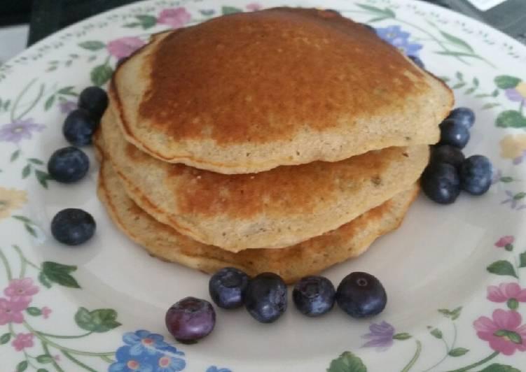 Simple Way to Prepare Favorite Yogurt pancake