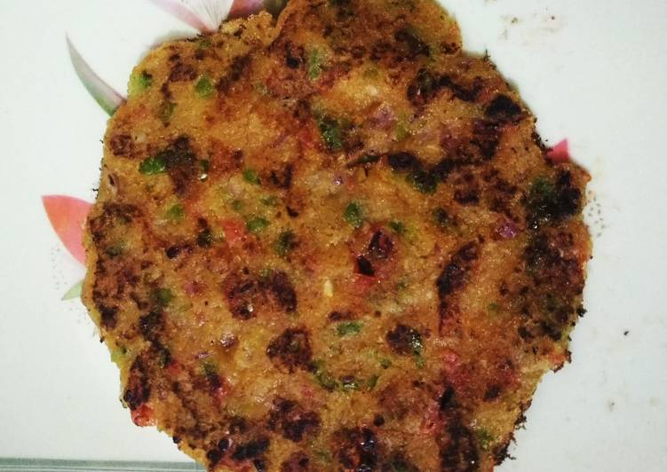 Recipe of Super Quick Homemade Suji chilla