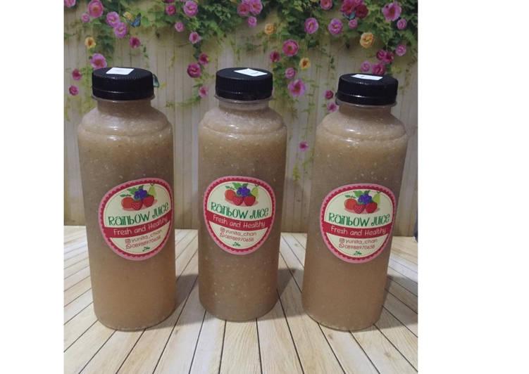 Diet Juice Melon Starfruit Apple Chiaseed
