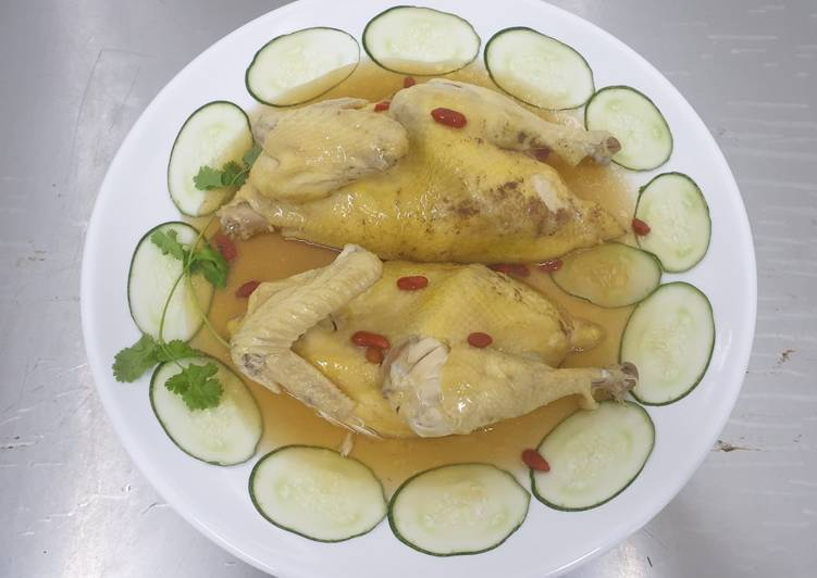 Recipe of Super Quick Homemade Chinese Herbs Chicken 药材鸡