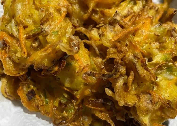 Bakwan sayur crispy