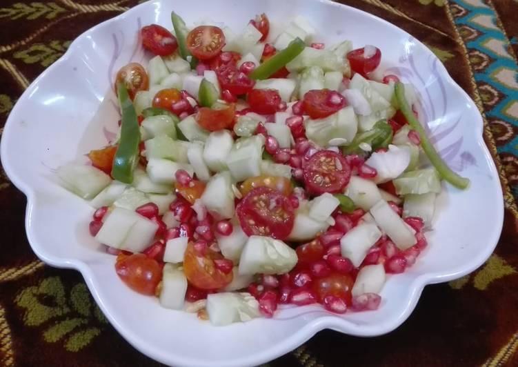 Recipe of Ultimate Cherry Tomato Cucumber Salad