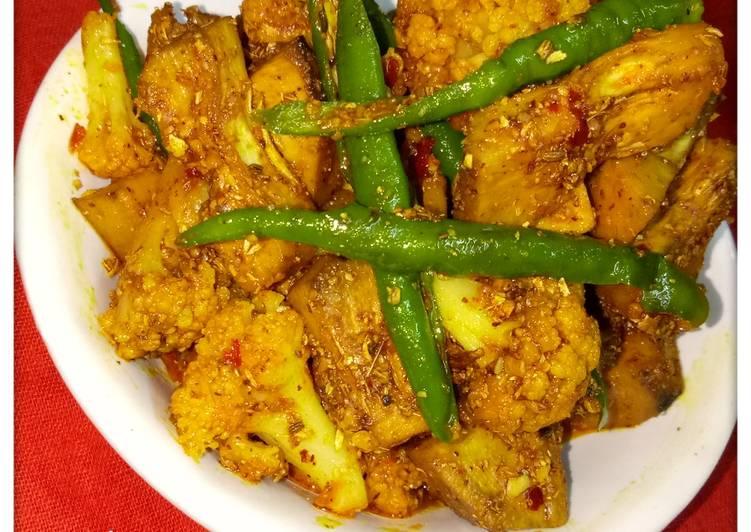 Recipe of Award-winning Gobi kathal ka achar