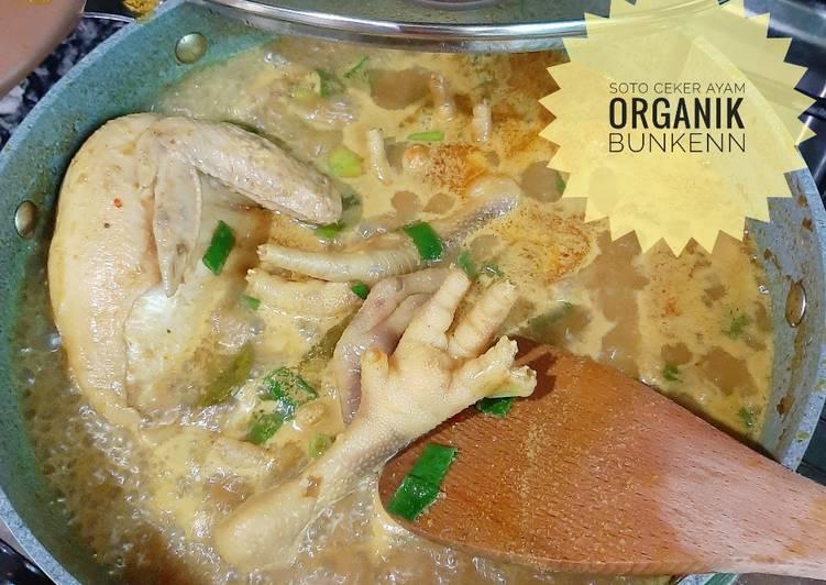 Soto Ceker Ayam Organik