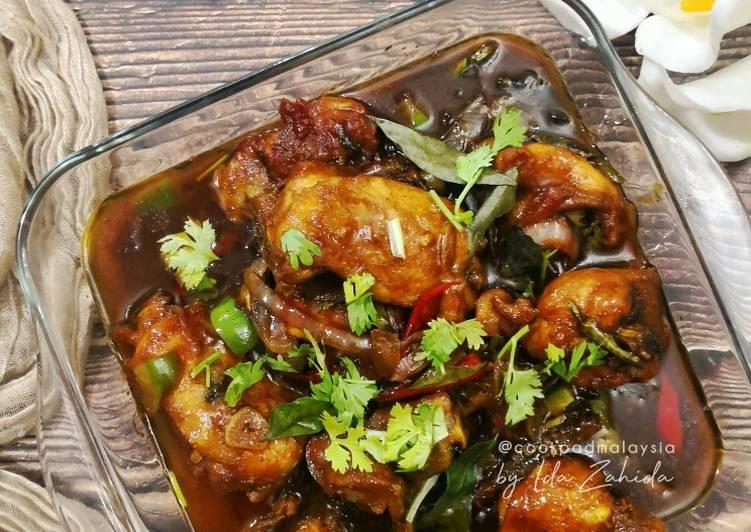 Ayam Kam Heong (versi berkuah) - velavinkabakery.com