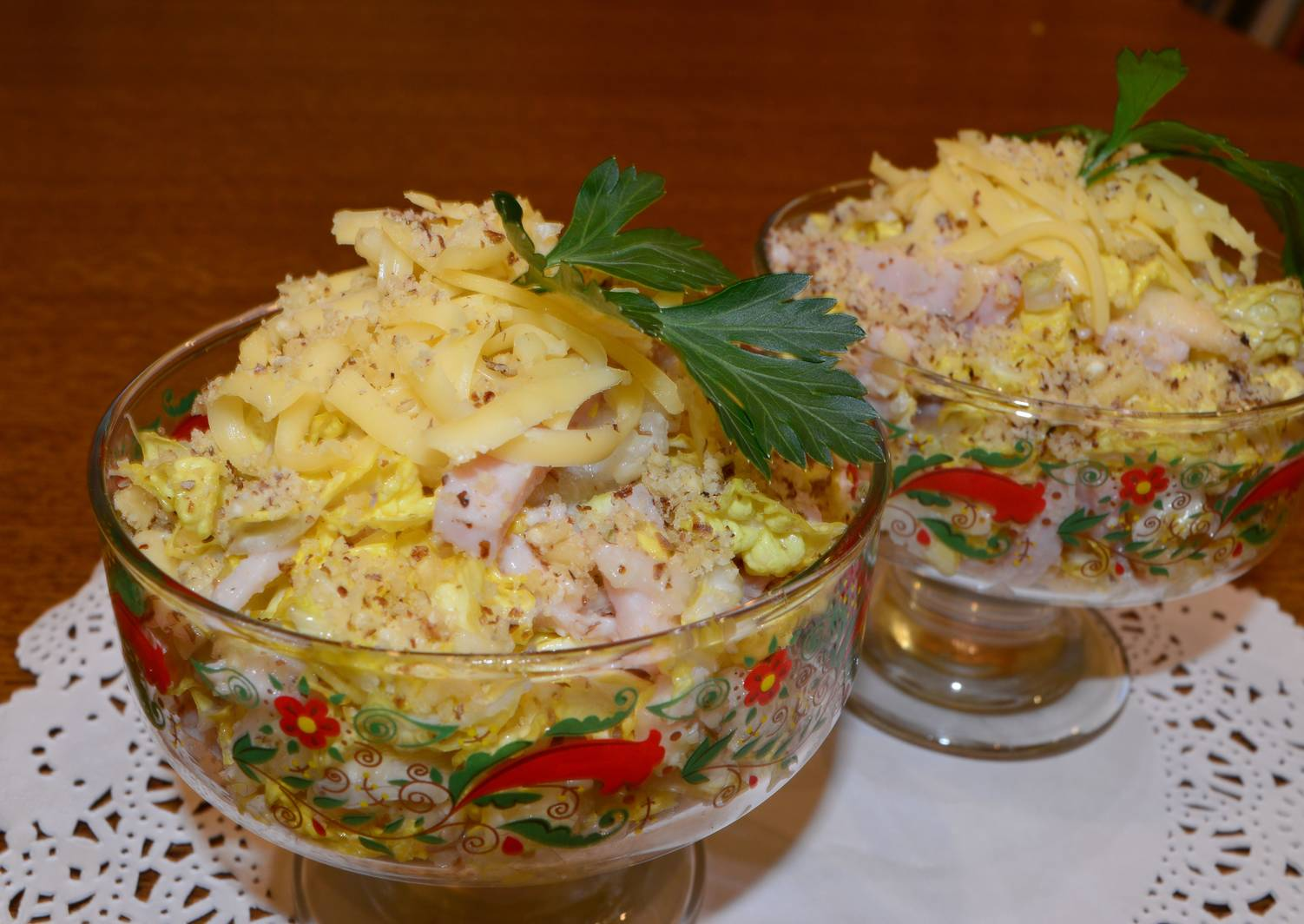 салат загадка рецепт с фото лидер коммунистов россии