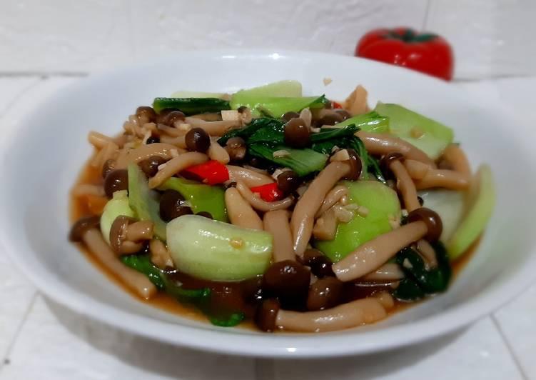 49-bokchoy-jamur-shimeji