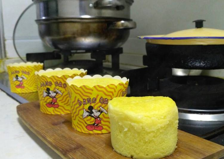 Corn Steam Cake