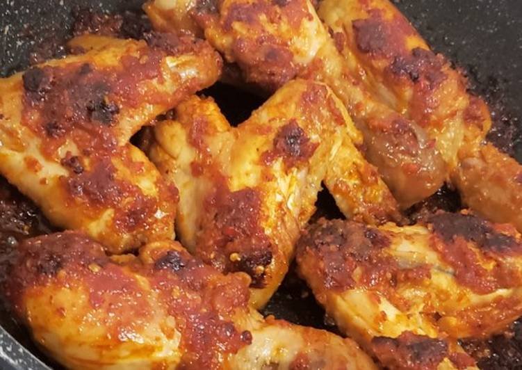 Ayam bakar teflon 🍗