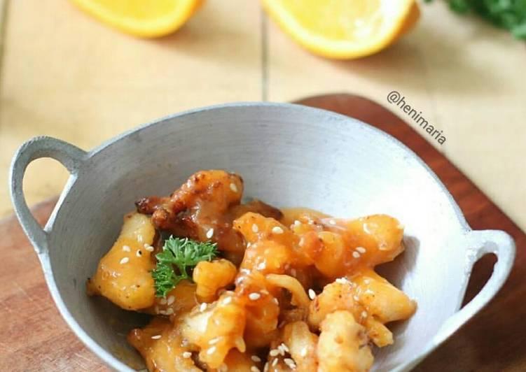 Resep Ayam Saus Lemon Yang Gampang Bikin Nagih