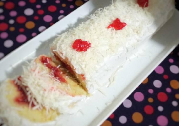Bolu Gulung Agar Vanilla Happy Call #pr_digulungjangandigiling