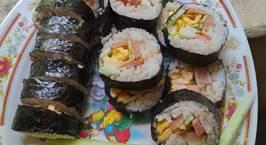 Hình ảnh món Kimbap - Cơm cuộn Hàn Quốc ?