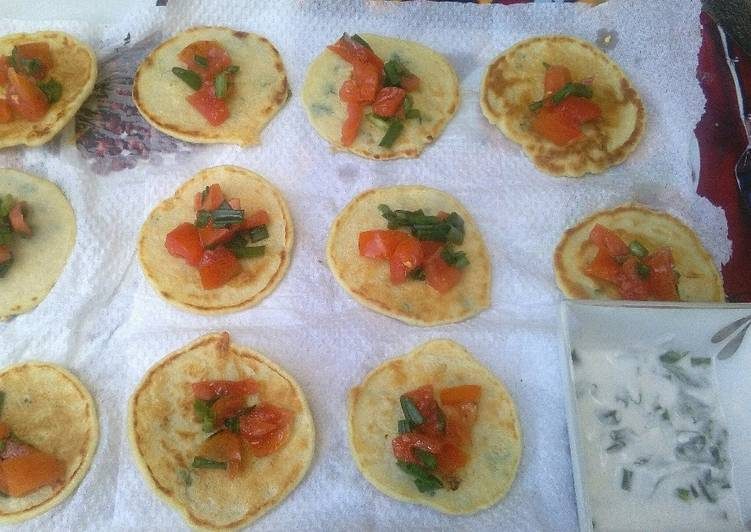 Savoury mini pancakes #team contest #team sugar&spice #appetizer #indian