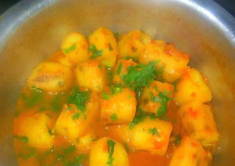Recipe of Homemade Matoke stew