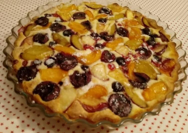 Sommerfrüchte-Kuchen