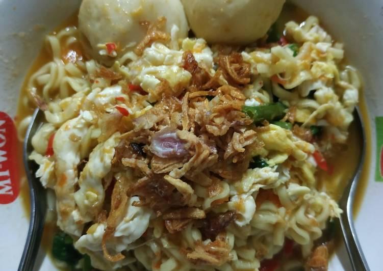 Resep Mi Kangkung Bumbu Seblak Yang Populer Bikin Nagih