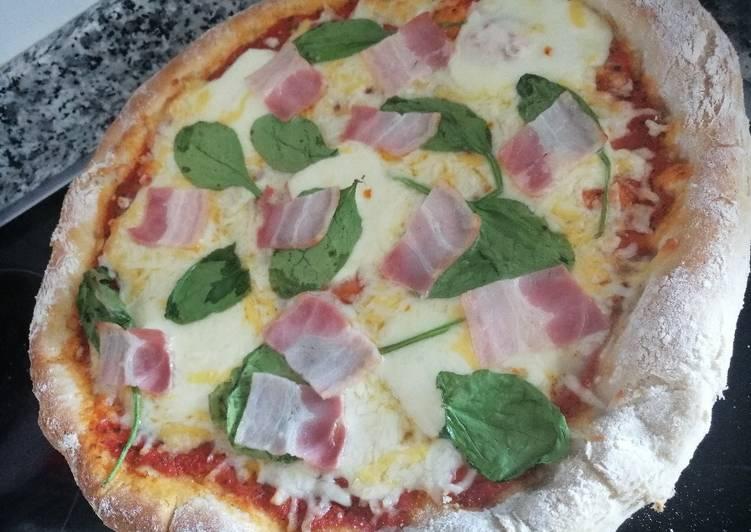 Masa de pizza casera con o sin Thermomix