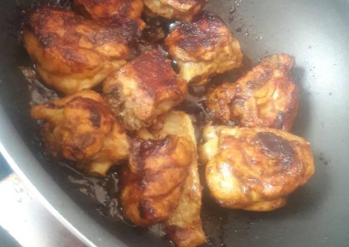 Ayam Bakar Bumbu kuning