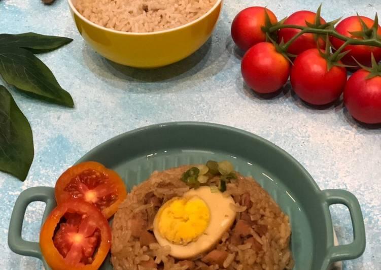 Cara Gampang Membuat Nasi Tim Ayam 3 steps ala Tiger Kitchen, Bikin Ngiler
