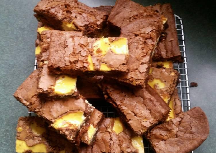 Lemon Ricotta Brownies
