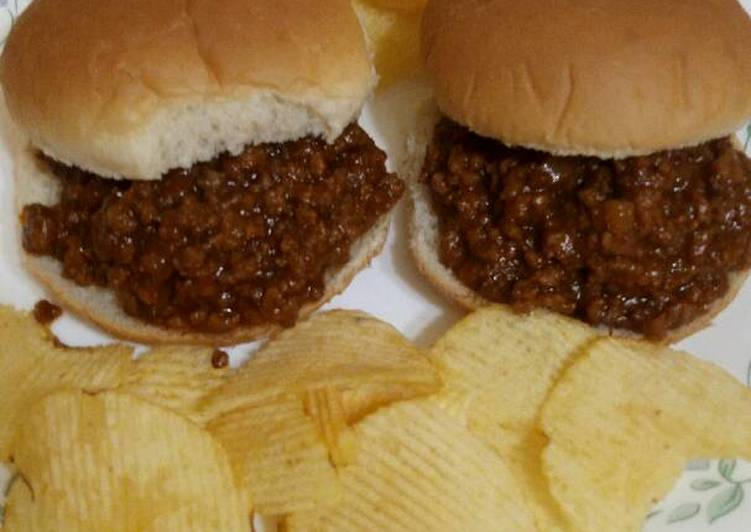How to Prepare Yummy Hamburger Barbecue (Crockpot)