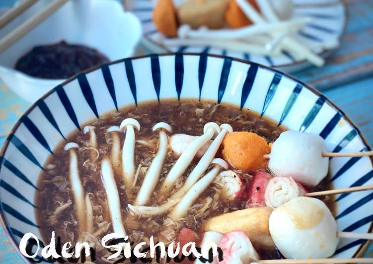 Oden in Sichuan Soup (Chinese Style)