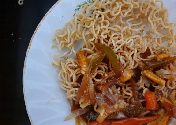 How to Prepare Appetizing Veg. Chinese chop suey/ American chop suey