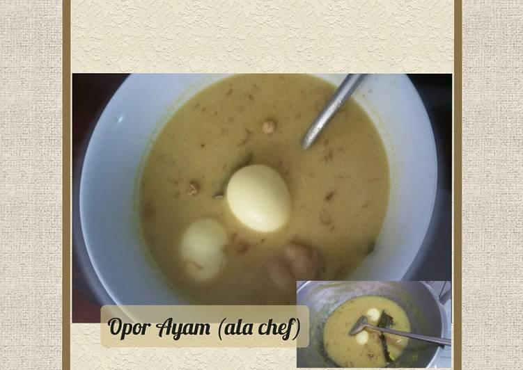 Opor Ayam (ala chef)