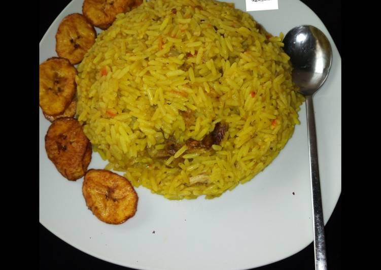 Curry jellof rice