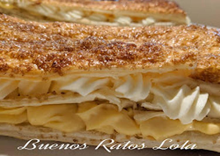 Crema Pastelera En Monsieur Cuisine Plus Receta De Lola Benavides Cookpad