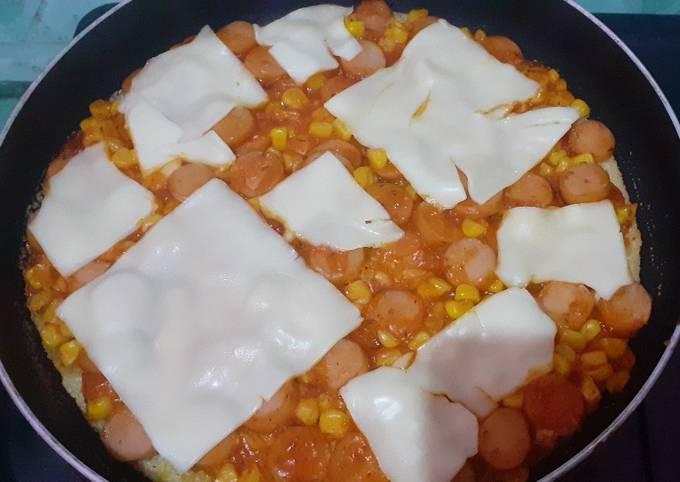 Pizza Nasi Teflon