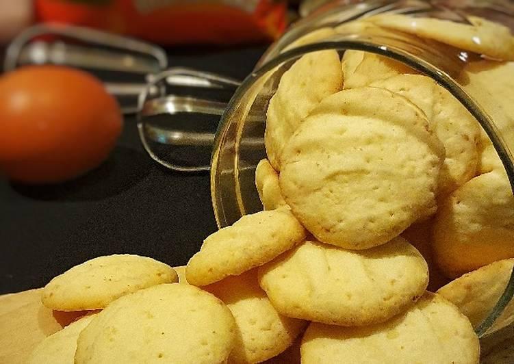 159. Kukis Keju Maizena (Cheesy Cornstarch Cookies) Gluten free