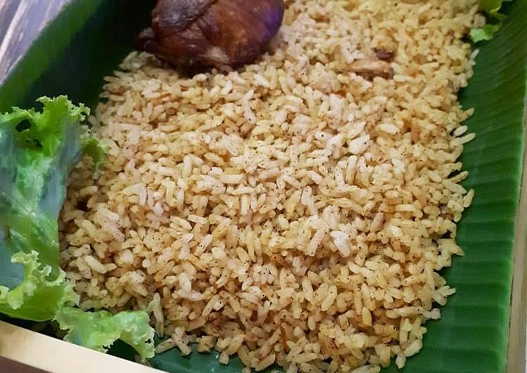 44 - Nasi Biryani Ayam (Rice Cooker)