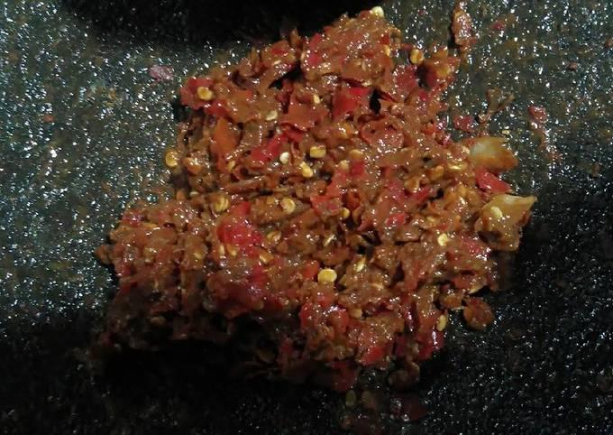 Resep Sambal Bawang Merah Terasi Anti Gagal