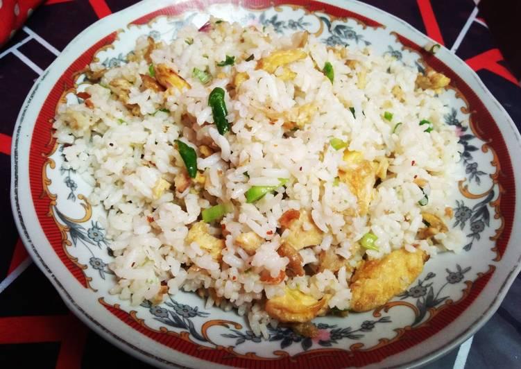 Nasi goreng jawa khas mak'e tanpa kecap