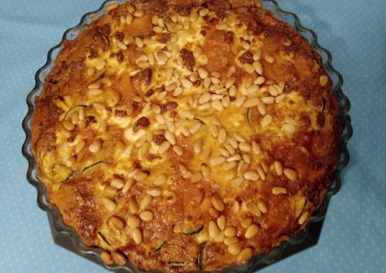 Recipe: Tasty Zucchini-Feta-Quiche