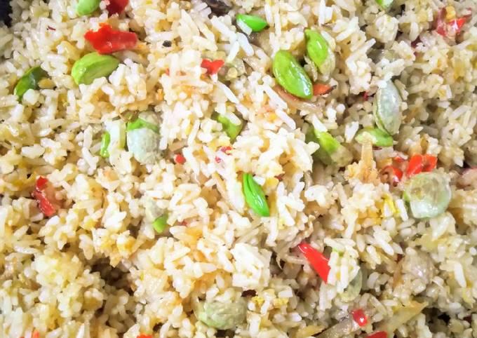 Nasi goreng petai cili padi berapi pkpb 2020