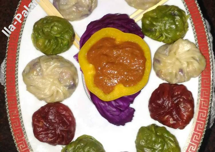 Veg Colorful Momos