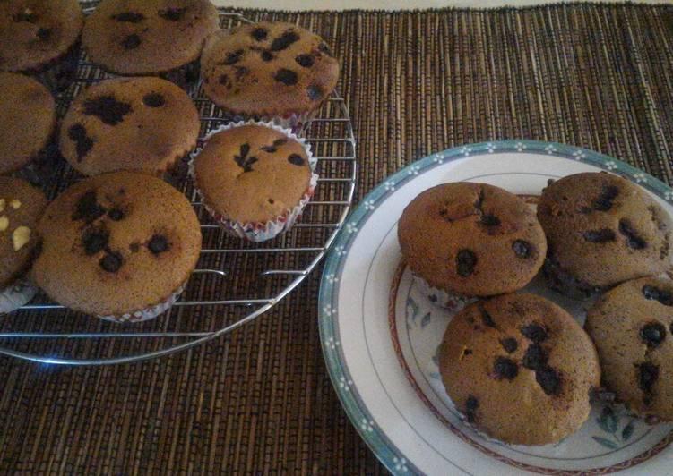 Simple choco cupcake