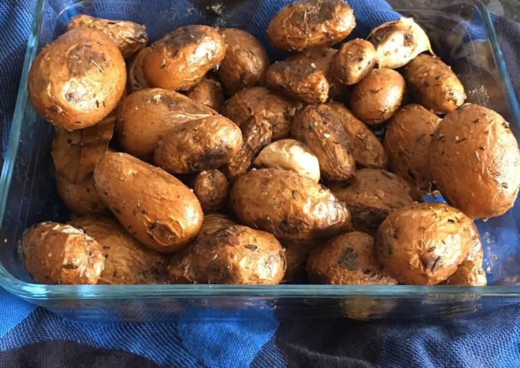 Pommes de terre rattes sautées