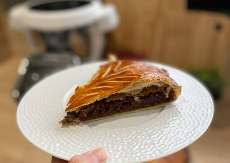 Comment faire Cuire Appétissante Galette des rois au Chocolat au Companion de Moulinex